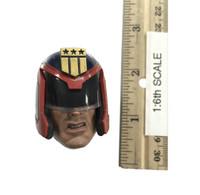 Justice Judge - Head w/ Helmet (No Neck Joint)
