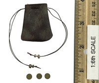 Game of Thrones: Arya Stark - Coin Purse w/ Coins (3)