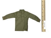 WWII Red Army Infantry Senior Lieutenant Set - Shirt (Green) (M1935 Officer Tunic)