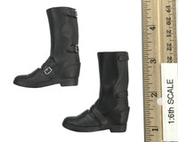 The Other Shadow - Boots (Black Leather) w/ Ball Joints