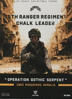 75th Ranger Regiment: Chalk Leader (1/12th Scale) - Boxed Figure