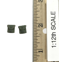 75th Ranger Regiment: Chalk Leader (1/12th Scale) - Compass & First Aid Pouches