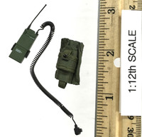 75th Ranger Regiment: Chalk Leader (1/12th Scale) - Radio (AN/PRC) w/ Pouch