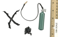 Seal Team Navy Special Forces HALO - Oxygen Tank w/ Mask