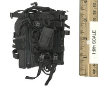 Seal Team Navy Special Forces HALO - Black Tactical Vest