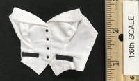 Sexy Female Secretary Suit Sets - Halter Top  (White)