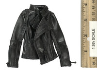 Locomotive Girl Leather Set - Black Leather Multi-Zippered Jacket