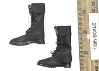 Special Forces (Cammy) - Boots (Black) (For Feet)