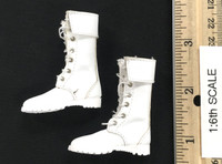 Special Forces (Cammy) - Boots (White) (For Feet)