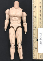 Terminator 2: Judgement Day - T-800 (1/12th Scale) - Nude Body w/ Neck Joint (Magnetic) (AS-IS)