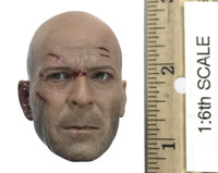 Die Hard or Live Free Johnny 2.0 - Head (Battle Damaged) (No Neck Joint)