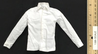 Chicago Gangster Michael 3.0 (Deluxe) - Shirt (White w/ White Buttons)