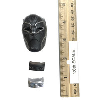Black Panther: Black Panther - Head (Masked) w/ Eye Pieces (No Neck Joint)