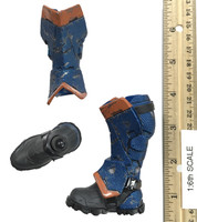 Arkham Origins: Deathstroke - Boots w/ Leggings (w/ Ball Joints)