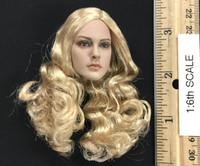Lightning Warrior - Head w/ Blonde Hair (No Neck Joint)
