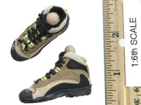 A-TACS FG Double Women Soldier Jenner - Boots w/ Ball Joints