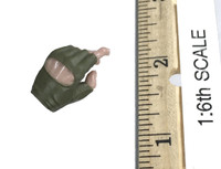 A-TACS FG Double Women Soldier Jenner - Left Trigger Hand (Green)