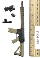 A-TACS FG Double Women Soldier Jenner - Rifle (M4 SOPMOD Block II)