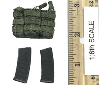 A-TACS FG Double Women Soldier Jenner - Rifle Ammo (M4) w/ Pouch (Green)