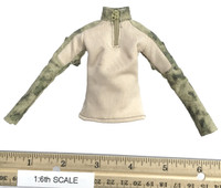 A-TACS FG Double Women Soldier Jenner - Long Sleeve Camo Shirt (A-TACS FG Collared)