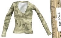 A-TACS FG Double Women Soldier Jenner - Long Sleeve Camo Shirt (A-TACS FG Low Cut)