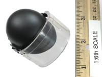 French Police Unit: Paris Raid - Riot Helmet w/ Shield