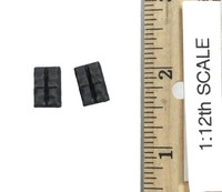 Delta Force Team Leader 1993 Somalia (1/12 Scale) - Double Pistol Mag Pouches