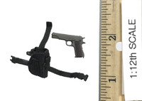 Delta Force Team Leader 1993 Somalia (1/12 Scale) - Pistol (M1911A1) w/ Holster