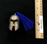 Magic Knights: Porthos the Lancer - Helmet (Metal) (Fits Over Head)
