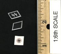 German Female SS Officer - Epaulettes