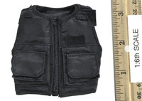 British Metropolitan Police Service Female Officer - Black Vest (Stab-Proof)