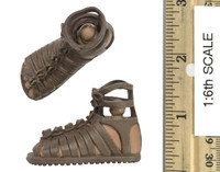 Roman Imperial Army Centurion - Sandaled Feet w/ Ball Joints