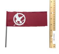 The Hunger Games: Mockingjay - Katniss Everdeen (Red Armor Version) - Flag