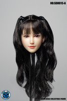 Asian Headsculpts 6.0 - Boxed Accessory (SUD-SDH015A) (Curly Black Hair)