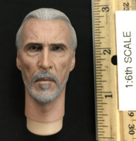 Attack of the Clones: Count Dooku - Head (Molded Neck)