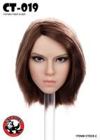 Female Assassin Headsculpts - CT019C Boxed Set (Brown Short Hair)