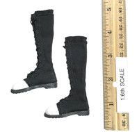 Combat Girl Custom Set - Boots (Black) (For Feet)
