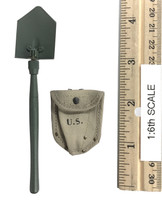 28th Infantry Division (Ardennes 1944) - Shovel (M-43) w/ Cover (Metal)