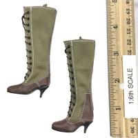 Afrika Female Officer - Desert Boots (For Feet)