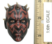 The Phantom Menace: Darth Maul (DX17) - Head (Relaxed Expression) (PERS) (No Neck Joint - See Note)