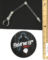 One:12 Collective: Friday the 13th Part 3: Jason Voorhees (1/12 Scale) - Display Stand