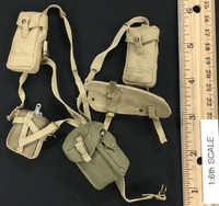 "British Airborne Red Devils Sergeant ""Charlie"" - Harness w/ Pouches & Canteen"