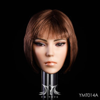 YMT Multiracial Head Sets - YMT-014A (Dark Brown) - Boxed Set