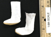 Kunoichi Clothes Sets - Tabi Boots (White) (For Feet)