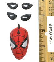 Spider-Man (Spider-Punk Suit) - Head w/ Swappable Eyes (No Neck Joint)