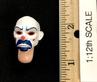 The Joker (Bank Robber Version) (1/12th Scale) - Head (Masked) w/ Neck Joint
