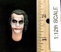 The Joker (Bank Robber Version) (1/12th Scale) - Head (Unmasked) w/ Neck Joint