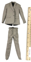 Reporter Office Suit Set - Suit (Brown)