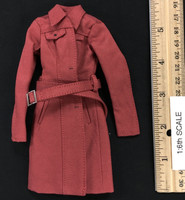 Female Trench Coat Sets - Trench Coat (Red)