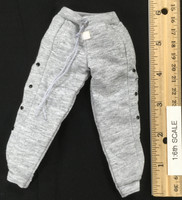 Bulls Sport Set (Red) - Grey Tear-Away Pants